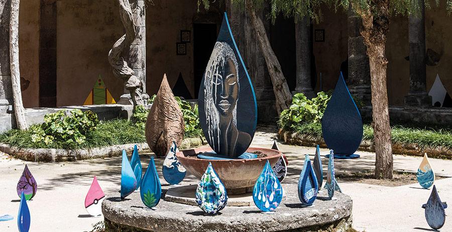 """Gocce d'Acqua"""": arriva a Sorrento l'installazione artistica di Ottaiano -  Campania Bellezza del Creato"""